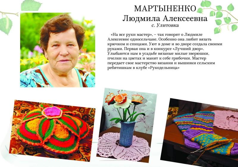 Мартыненко Людмила Алексеевна
