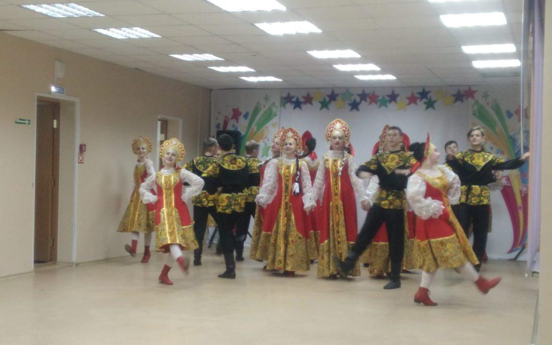 Отчётный концерт Дома культуры «Родина»