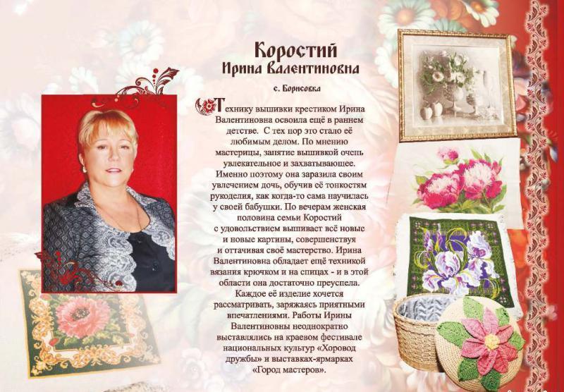 Коростий Ирина Валентиновна