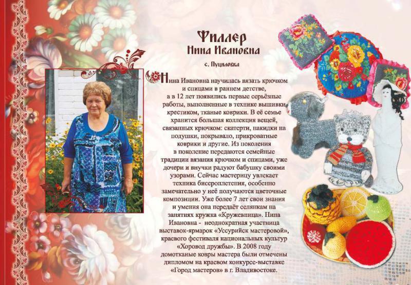 Филлер Нина Ивановна