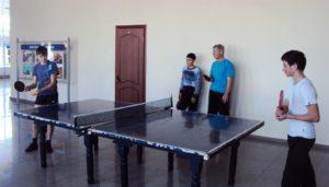 Клуб «Теннисист» старшая группа