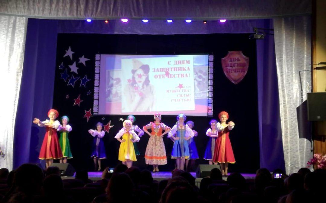 Отчетный концерт народного хора «Забава»»Служить Отечеству!», ко Дню защитника Отечества, п. Тимирязевский