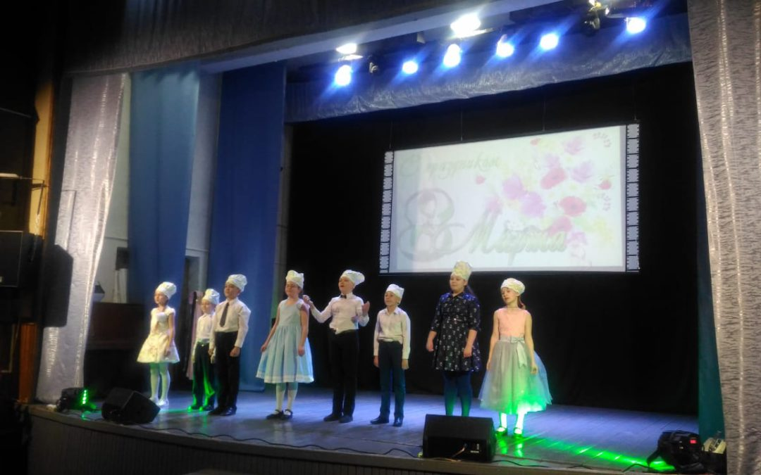 Концертная программа «Пора цветов и поздравлений» к 8 марта