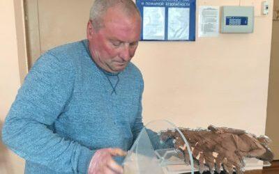 Работа Кожемякина Александра «Эхо минувшей войны» на конкурс «Монументы Победы»