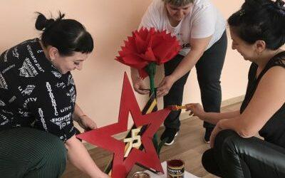 Работа детского сада № 8 «Звезда Победы» на конкурс «Монументы Победы»