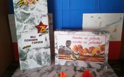 Работа Клюева Ивана «Монумент славы» на конкурс «Монументы Победы»