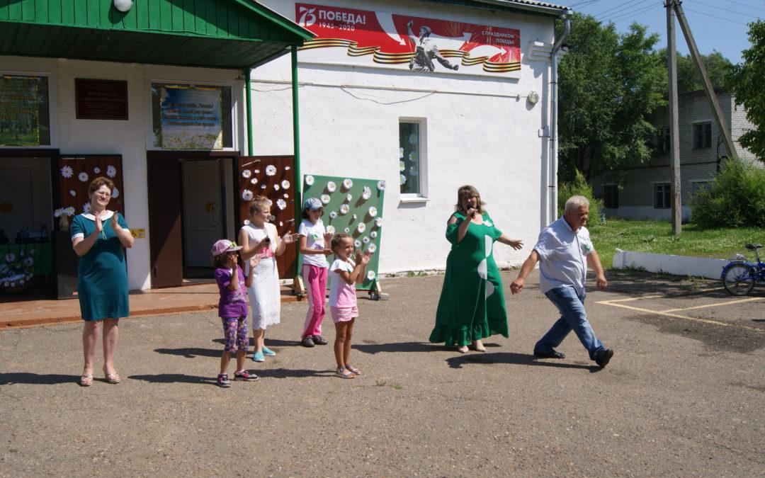 Концертная программа «Ромашковое настроение»  в с.Алексей-Никольское