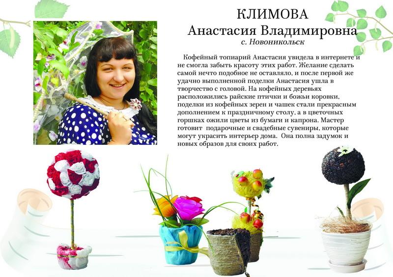 Климова Анастасия Владимировна