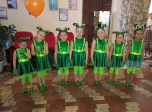 Танцевальная студия «Крылья» (младшая группа)