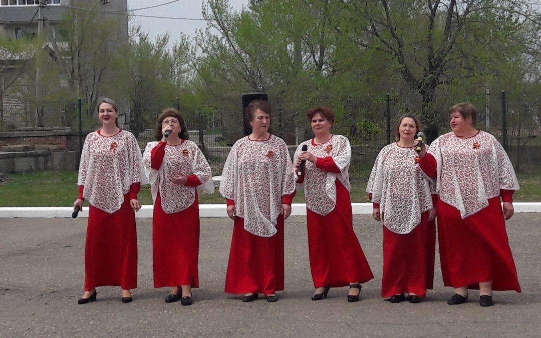Праздничные мероприятия, посвящённые 74-й годовщине Победы в Великой Отечественной войне