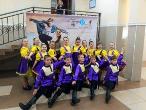 Ансамбль танца «Легенда» младшая группа