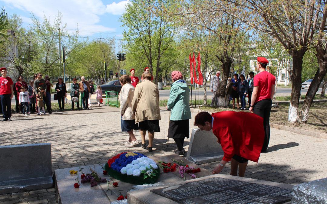 День Победы в Новоникольске отметили с размахом