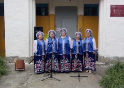 Концертная программа «С песней по жизни» в Богатырка