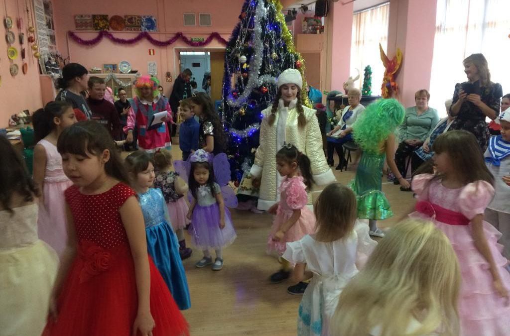 Благотворительный детский Новогодний утренник «В снежном царстве, морозном государстве»