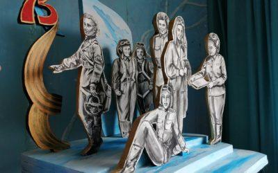 Работа Светланы Некилевой «Победный взлёт» на конкурс «Монументы Победы»