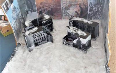 Работа Харисовой Е.Н. и Лободюк Н. А. «Тучи над городом встали…» на конкурс «Монументы Победы»
