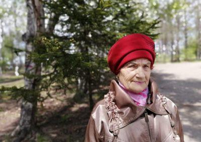 Любовь Федоровна Комарова