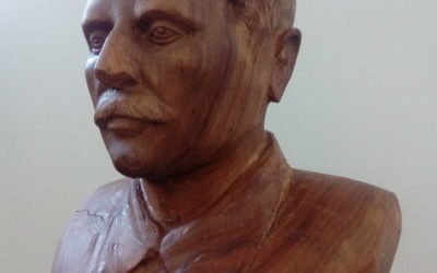 Работа Анатолия Черевко «Сталин» (бюст) на конкурс «Монументы Победы»