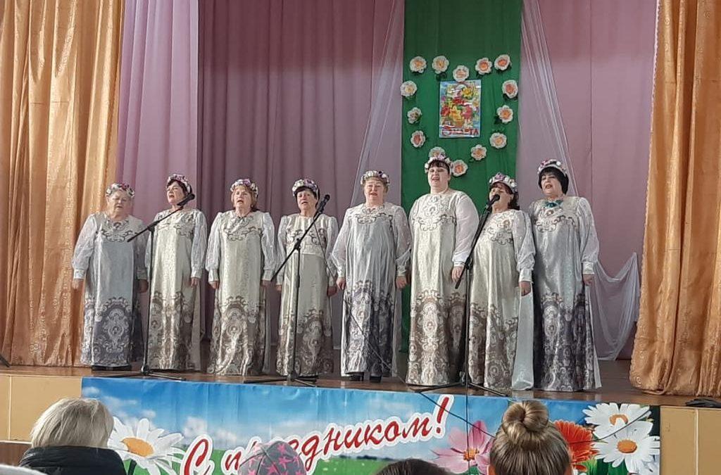Концертная программа «Мы желаем счастья вам»,  к Международному женскому Дню 8 Марта.  Дом культуры с. Пуциловка