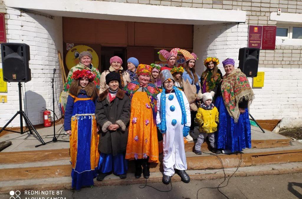 «Масленица честная, да проказница большая» прошла на территории Дома культуры с. Пуциловка