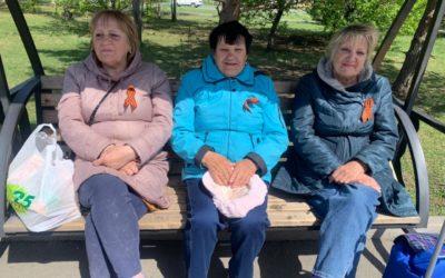В преддверии Дня Победы на территории Уссурийского городского округа прошла акция «Георгиевская ленточка»