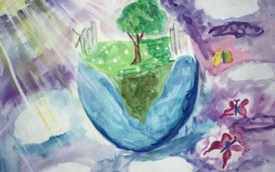 Окружающая среда глазами юных художников