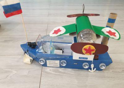 военный корабль 3